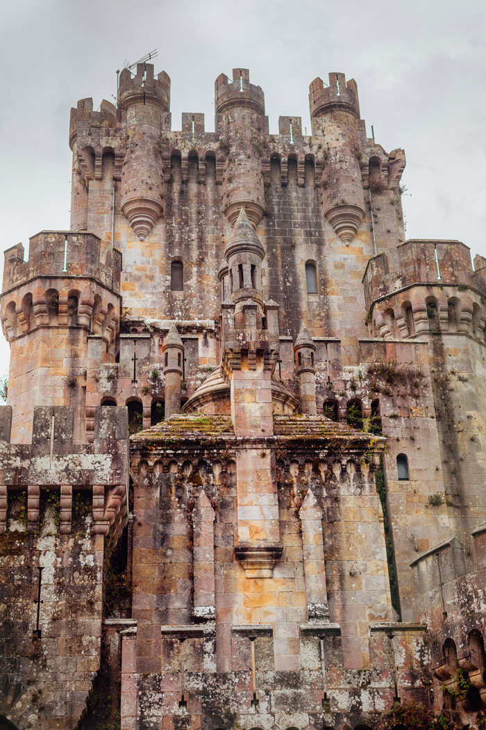 castillo neogótico de Butrón